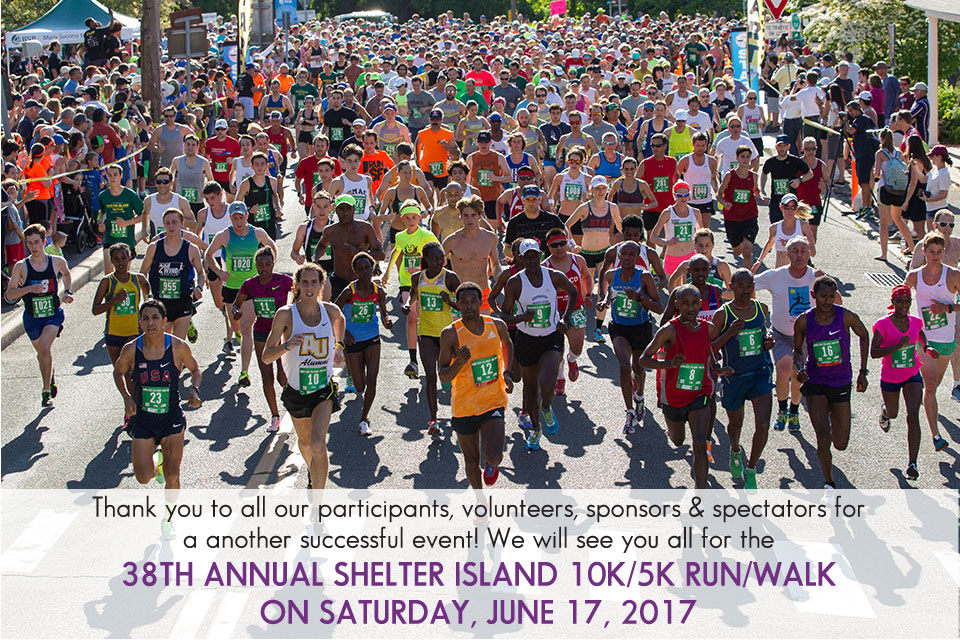 37th Annual Shelter Island 10K Run on Saturday, June 18, 2016